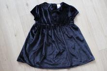 Šaty černé, c&a,86