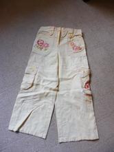 Lněné kalhoty 3-4 roky, george,104