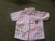 Pěkná sportovní košile, jako nová, vel. 92, 30,-kč, 92