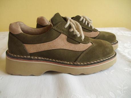 Dámské kožené boty zn. nagaba - vel. 37, 37