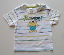 Obrázkové tričko s krátkým rukávem vel. 74, c&a,74