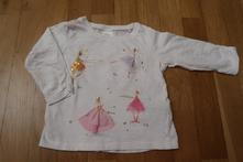 Dívčí tričko next vel. 80, next,80