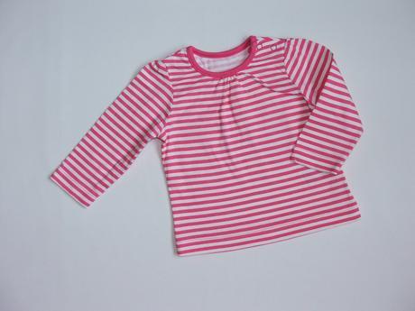 W67 pruhované tričko vel. 68, mothercare,68