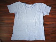 Super modrobílé pruhované bavlněné tričko - xxl, xxl