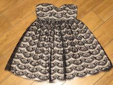Krásné krajkové šaty zn.c&a vel.40, c&a,40