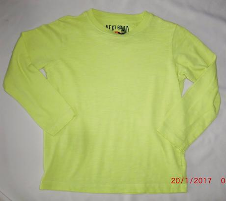 Bavlněné neon tričko next, next,110