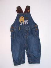 L22 podšité jeans laclíky vel. 68, next,68