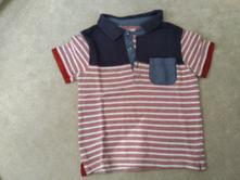 Tričko s krátkým rukávem s límečkem, matalan,92