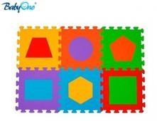 Babyono pěnové puzzle - tvary - 6 ks,