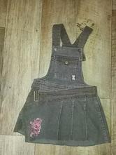 Manžestrové šaty, velikost 104-110, 104