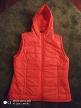 Růžová vesta s kapucí, terranova,l