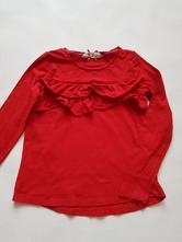 Červené tričko, h&m,116
