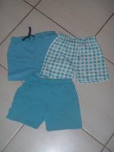 Modré šortky, f&f,86