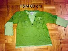 Tričko 80 cm, h&m,80