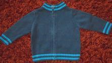 Chlapecký svetřík na zip vel. 1-2 roky., cherokee,86