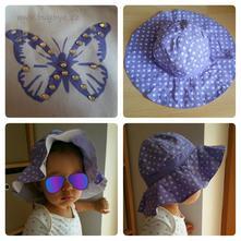 Dívčí letní klobouk,