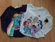 2x triko my little pony h&m, vel. 92, h&m,92