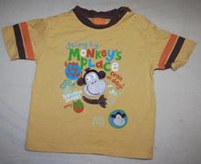 Prodám toto nádherné tričko s opičkou bez vad. zna, mini mode,86