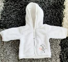 Zateplený kabátek pro miminko, vel. 56, richelieu,56