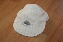 Klobouk klobouček letní - béžový, auto vel. 50, 50