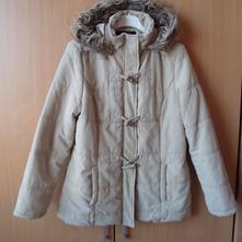 Béžová bunda bundička kabát kabátek, m