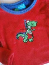 Huňatá mikina s dinosaurem, primark,104