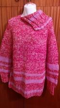Dámský ručně pletený svetr, xl