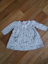 Bavlněné šaty ( tunika) 6-9 měsíců, f&f,74