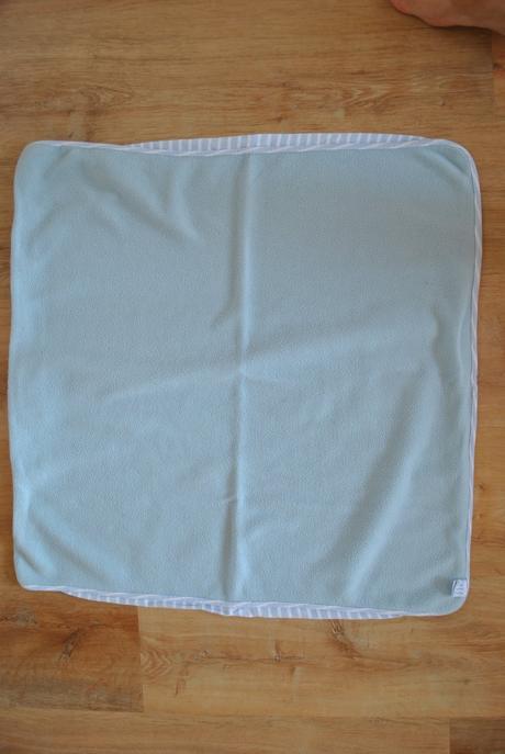 Oboustranná deka - bavlna flees 75x75cm,