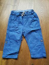 Plátěné kalhoty, h&m,80