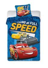 Dětské povlečení 140x200 cars speed- skladem, 140,200