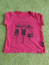 Bavlněné tričko s holčičkami/modelkami, betty mode,86