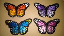 Nažehlovací motýl - záplata,