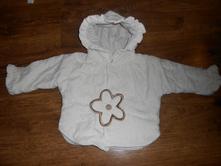 Zateplený kabátek pro holčičku, loana,62