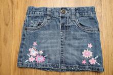 Riflová sukně (sukýnka), 98