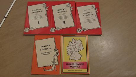 Knihy německy s úsměvem, přehled německé mluvnice,