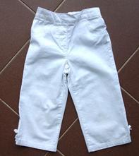 Kalhoty 3/4 vel. 3 - 4 r, next,104
