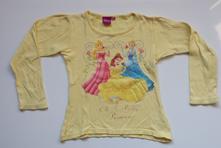 L26dívčí triko s dlouhým rukávem princezny vel. 1, disney,128
