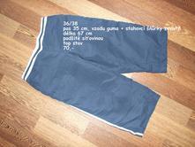 3/4 kalhoty 36/38, 38