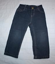 Plátěné kalhoty tmavě modré, lupilu,92
