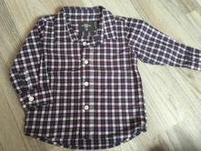 Karovaná košile, h&m,68