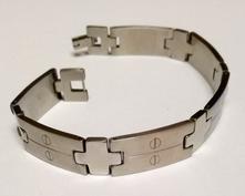 Pánský náramek-chirurgická ocel 316/l,