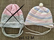Zimní čepice podšitá fleecem, 12 m, 80