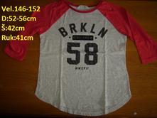 Tričko na holku, h&m,146