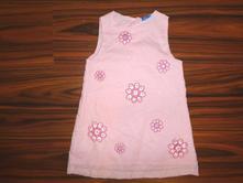 Nádherné vyšívané květované šaty, topolino,92