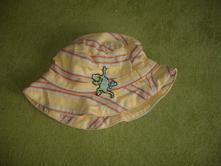 Žlutý klobouček s ještěrkou 0-6 měsíců, rocha.little.rocha,62