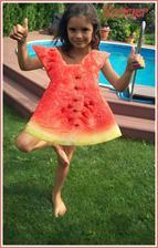 šatičky z melounu :-)