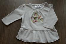 Bavlněné triko dlouhý rukáv, ergee,68