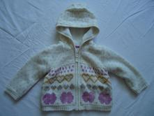 Oteplený svetr s kapucí, f&f,86