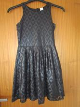 Krásné černé slavnostní šaty z c&a, vel. 146-152, c&a,146